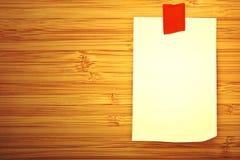 Blank sticker Stock Image