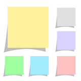 Blank sticker Royalty Free Stock Images