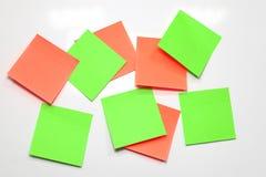 Blank Sticky Note. Stock Photo