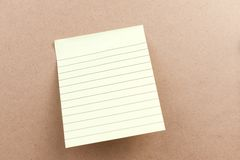 Blank sticky note Stock Images