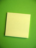 Blank Sticky Note Royalty Free Stock Photography