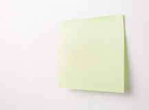 Blank Sticky Note Royalty Free Stock Photos