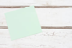 Blank Sticky Note for your message Royalty Free Stock Image