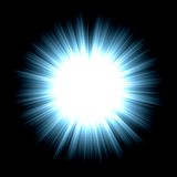 blank stjärna Royaltyfri Foto