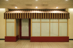 Blank Storefront Stock Images