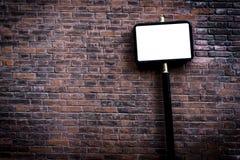 Blank street sign Stock Photo
