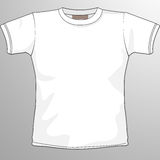 Blank t-shirt. Layout for presentation - vector Royalty Free Stock Photography