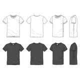 Blank t-shirt Royalty Free Stock Photos