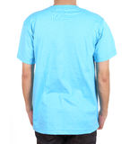 Blank t-shirt on man (back side) Royalty Free Stock Photo