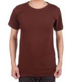 Blank t-shirt on man