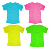 Blank T-Shirt Template Royalty Free Stock Photo