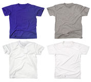 Blank t-shirts 2 Stock Photos