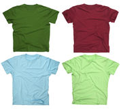 Blank t-shirts 3 Stock Photo