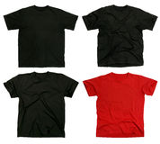 Blank t-shirts stock photography