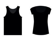 Blank T-shirts Royalty Free Stock Photo
