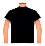 Blank T-shirts Royalty Free Stock Photo