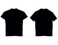 Blank T-shirts Stock Photos