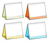 Blank table calendars Royalty Free Stock Photo