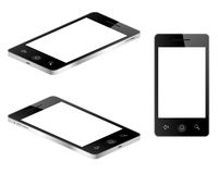 Blank Tablet Phones Stock Image