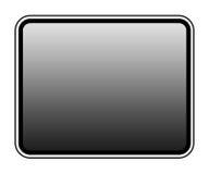 Blank tablet screen Stock Photos