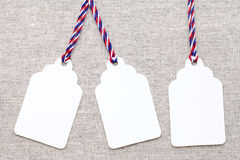 Blank tag Stock Photography