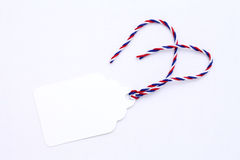 Blank tag or label Stock Image