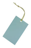 Blank Tag On White Stock Photography