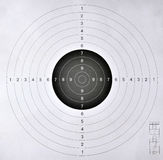 Blank target  for shooting competition Royalty Free Stock Photography