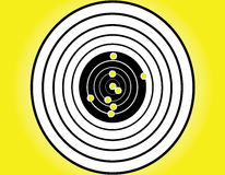 Blank target sport. For shooting competition Royalty Free Stock Photo