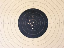 Blank target sport for shooting competition close up. Blank target sport for shooting competition Stock Images