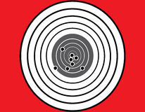 Blank target sport Stock Photography