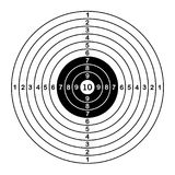 Blank target sport for shooting competition. vector illustration. Blank target sport for shooting competition. vector illustration Royalty Free Stock Photography
