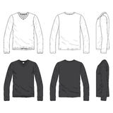 Blank tee Stock Images