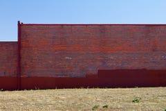 blank tegelstenvägg Royaltyfri Bild