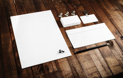 Blank template for ID Royalty Free Stock Photos