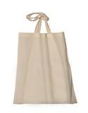 Blank textile bag royalty free stock photos