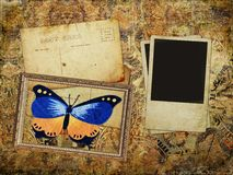 blank texturerad grungebild för bakgrund Royaltyfri Fotografi