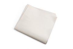 blank tidning Royaltyfri Fotografi