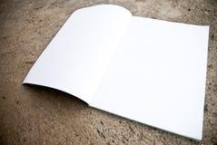blank tidskrift Royaltyfria Bilder