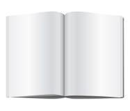 blank tidskriftsida