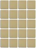 Blank tiles Stock Photo