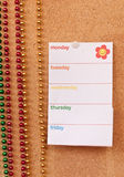 Blank To-Do List. With room for personalized text Stock Images