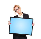 Blank touch pad Stock Image