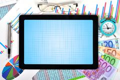 Blank touch pad Royalty Free Stock Image