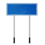 Blank traffic sign Stock Images