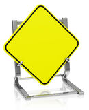 The blank traffic sign Royalty Free Stock Image