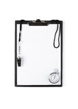Blank training clipboard Royalty Free Stock Image