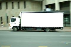 Blank truck royalty free stock photos