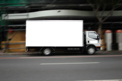 Blank truck Royalty Free Stock Photo