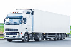 Blank truck Royalty Free Stock Photos